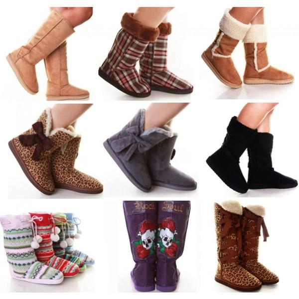 Обуваемся в теплую и комфортную обувь